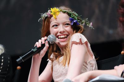 <p>Adorning your mane with something pretty is having more than a micro moment. Young actress Amybeth McNulty sported a delicate DIY Anne-esque garland at the premiere of Netflix's smash hit Anne with an E recently (if you haven't watched it, do - it's delightful for mothers and daughters). And who could miss Beyoncé's flower-crowned glory all over Insta lately? And it's not just daisy chains. From Kim K and daughter North's twinning cat-ear headbands to Suri Cruise's  bow-wearing New York strolls - the modern princess vibe is all around. Swipe through for some sweet ideas for  proms, weddings, birthdays or just because ...</p> <p> </p> <p>TORONTO, ON - MARCH 16: Actress Amybeth McNulty attends the CBC World Premiere VIP screening of 'Anne' at TIFF Bell Lightbox on March 16, 2017 in Toronto, Canada. (Photo by GP Images/Getty Images)</p>