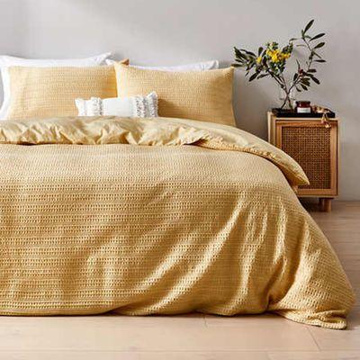 Makena Cotton Quilt Cover Set — Kmart