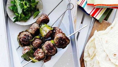 "Recipe: <a href=""http://kitchen.nine.com.au/2016/05/16/19/06/lamb-kfte-with-flatbread"" target=""_top"">Lamb köfte with flatbread</a>"