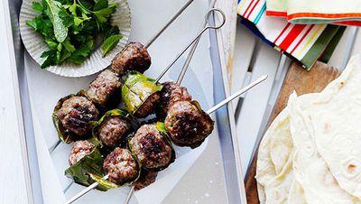 "Recipe: <a href=""http://kitchen.nine.com.au/2016/05/16/19/06/lamb-kfte-with-flatbread"" target=""_top"">Lamb k&ouml;fte with flatbread</a>"