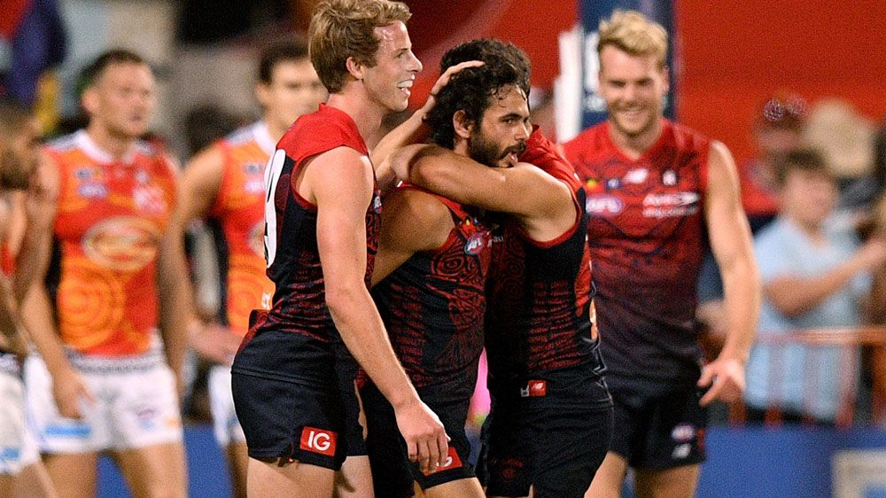 Demons in big AFL comeback win over Suns