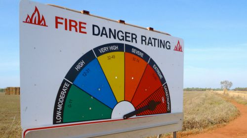 Total fire ban as extreme conditions hit parts of WA