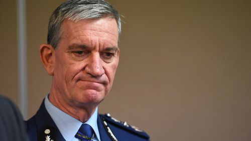 Retiring NSW top cop Andrew Scipione honoured in ceremony