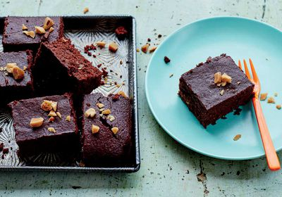 "Recipe: <a href=""http://kitchen.nine.com.au/2017/03/06/17/14/comforting-dark-chocolate-brazel-nut-brownies"" target=""_top"">Comforting dark chocolate Brazil nut brownies</a>"
