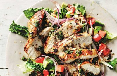 "<a href=""http://kitchen.nine.com.au/2017/06/06/16/04/anjum-anand-griddled-chopped-chicken-salad"" target=""_top"">Anjum Anand's griddled chopped chicken salad</a>"