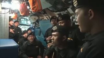 Crew aboard the KRI Nanggala 402 submarine filmed themselves singing a farewell video weeks before the vessel sank.