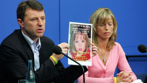 Jerry and Kate McCann appealed for information about their missing daughter Madeleine in 2007. Photo: Getty Images