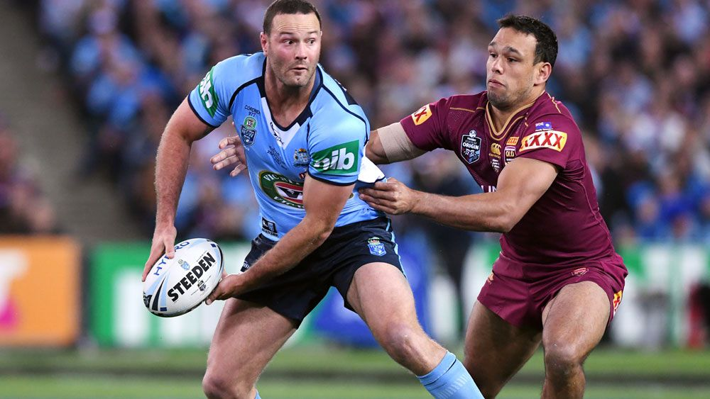 Boyd Cordner is hoping to lead the Blues in the deciding Origin fixture. (AAP)