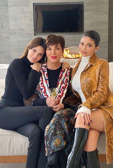 Kris Jenner, daughters, Kendall Jenner, Kylie Jenner