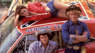 A car from The Dukes of Hazzard with a Confederate flag painted on the top of it will continue to be displayed at an auto museum in Illinois