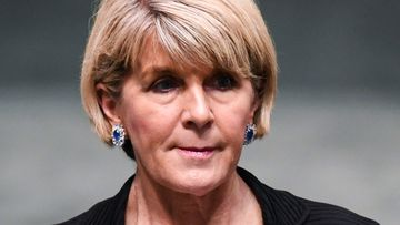 Julie Bishop is yet to decide if she wants to stay on as foreign minister under new prime minister Scott Morrison.