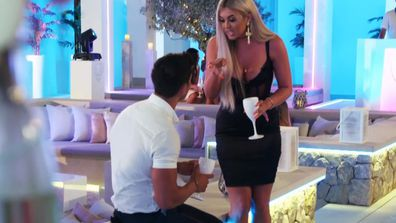 Belle unleashes fury at Anton on Love Island UK.