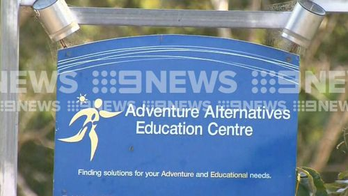 The teenager was on a school camp at Adventure Alternatives in the Sunshine Coast hinterland. Picture: 9NEWS