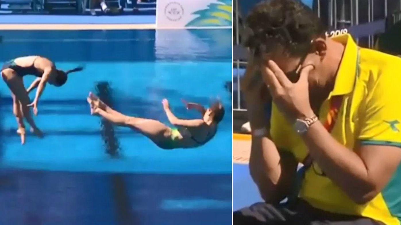 Agony, ecstasy for Australian diving team