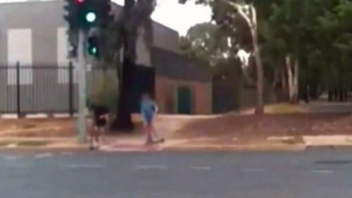 News Adelaide South Australia dash cam motorcycle crash teenage rider boy injured