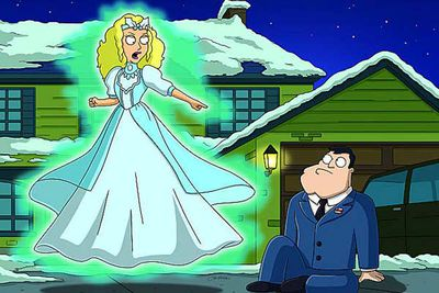 Kudrow evaded any post-Pheobe bad luck by having herself animated. As the bubbly-voiced Michelle (former Tooth Fairy, now Ghost of Christmas Past) in this memorable <i>American Dad!</i> ep, she is tasked with helping Stan rediscover the true meaning of Christmas. Think: Pheobe with magic powers. Brilliant.