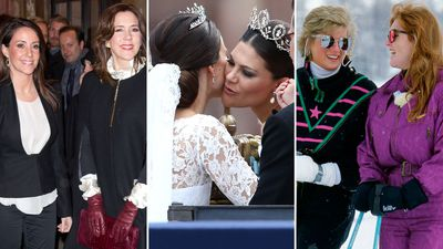 Royal sisters-in-law through the years