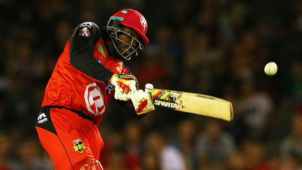 Gayle smashes fastest T20 half-century