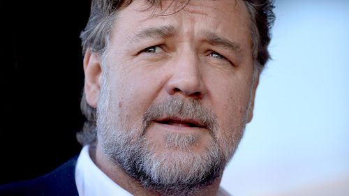 Russell Crowe is used as an example by One Nation as someone who could benefit from citizenship changes. (AAP)