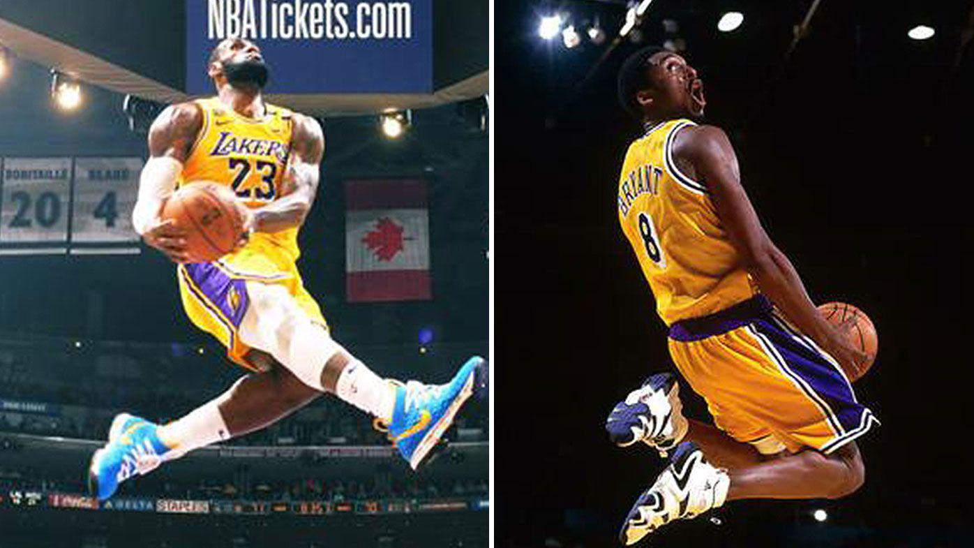 LeBron James in-game tribute to Kobe Bryant