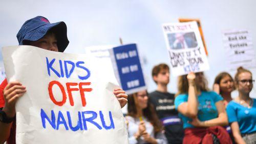 The detention of the children on Nauru triggered condemnation in Australia.