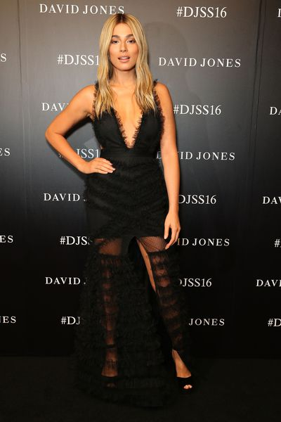 Celebrities and designers were out in force last night for David Jones' Spring/Summer 2016 runway show at Fox Studios in Sydney. Click through to see who was there (and what they wore).