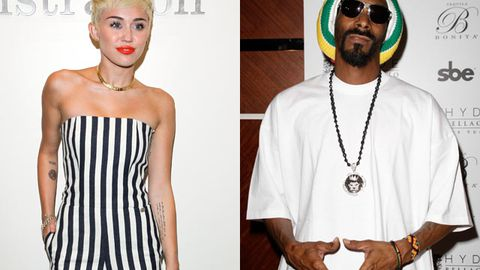 Miley and Snoop