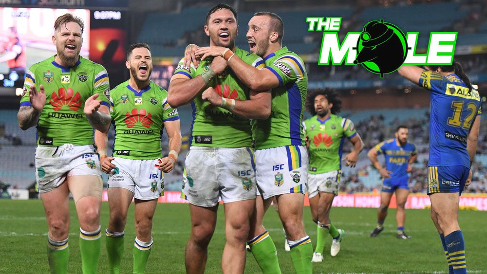 Canberra Raiders to shed players in response to salary cap dramas: The Mole