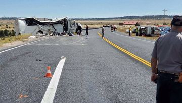 Multiple air ambulances and rescue crews responded to the crash on Utah Highway 12 in Garfield County.