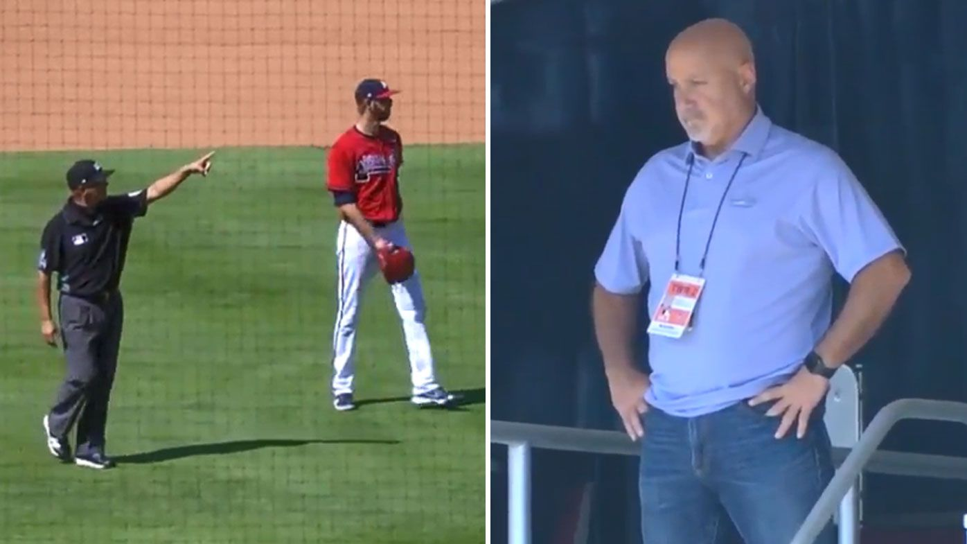 Washington Nationals general manager Mike Rizzo ejected from stadium for yelling