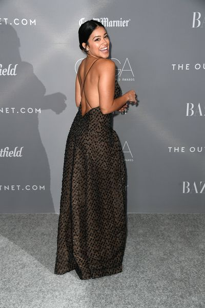 Actress Gina Rodriguez at the Rachel Sage Kunin at the 20th Annual Costume Designers Awards