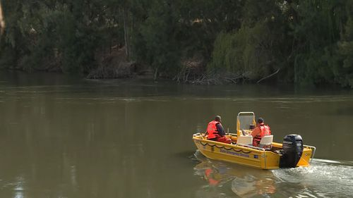 An extensive search was made by the authorities on the Murrumbidgee River after the man was reported missing.