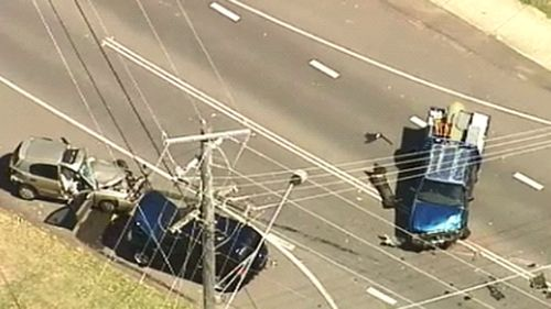 At least two people were injured. (9NEWS)