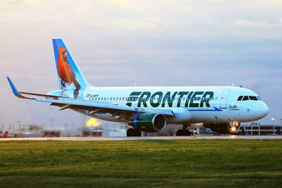 (Tied) 5. Frontier Airlines