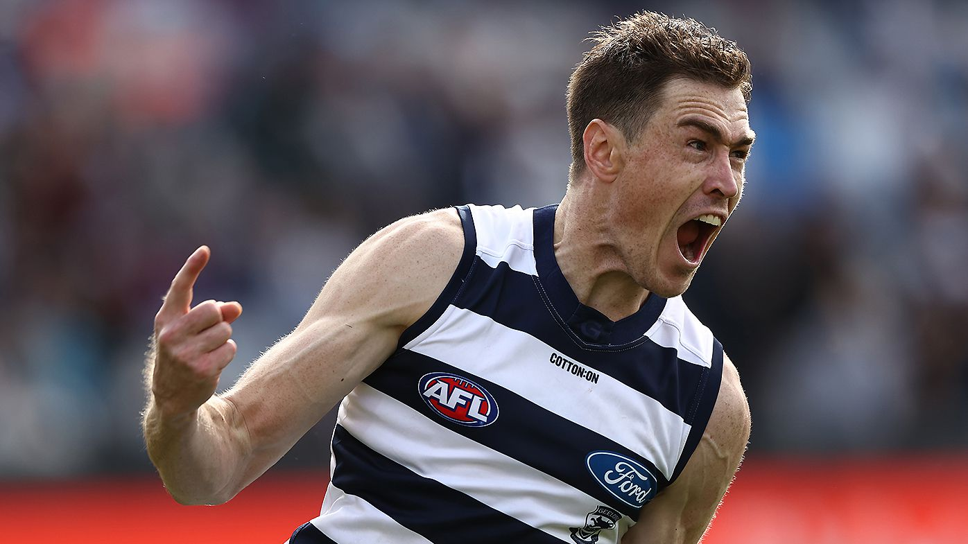 'Never had that': Jeremy Cameron's subtle shot at Giants fans after stunning Geelong debut