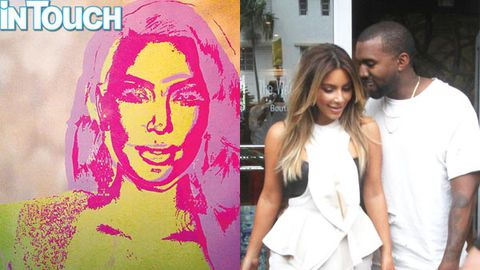 Kim Kardashian's $33k Warhol portrait from Kanye revealed