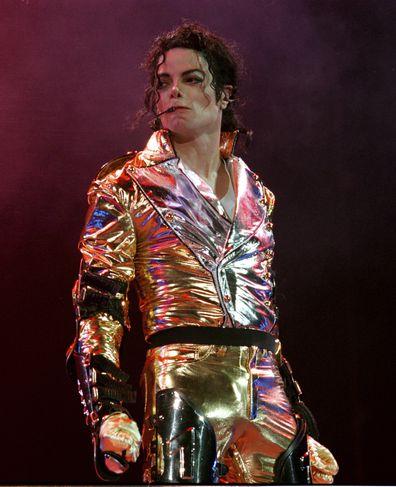 Michael Jackson, tour, stage
