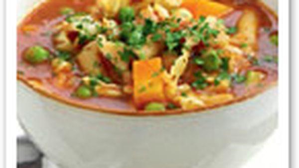 Chicken minestrone
