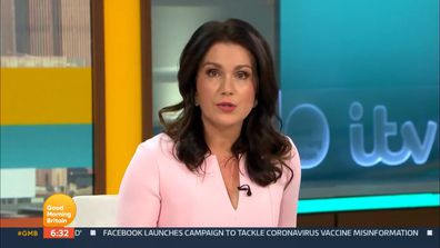 Susanna Reid on Good Morning Britain the day after Piers Morgan quit the show