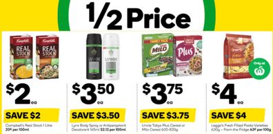From winter warmers to breakfast choices, Woolies has some great specials this week.
