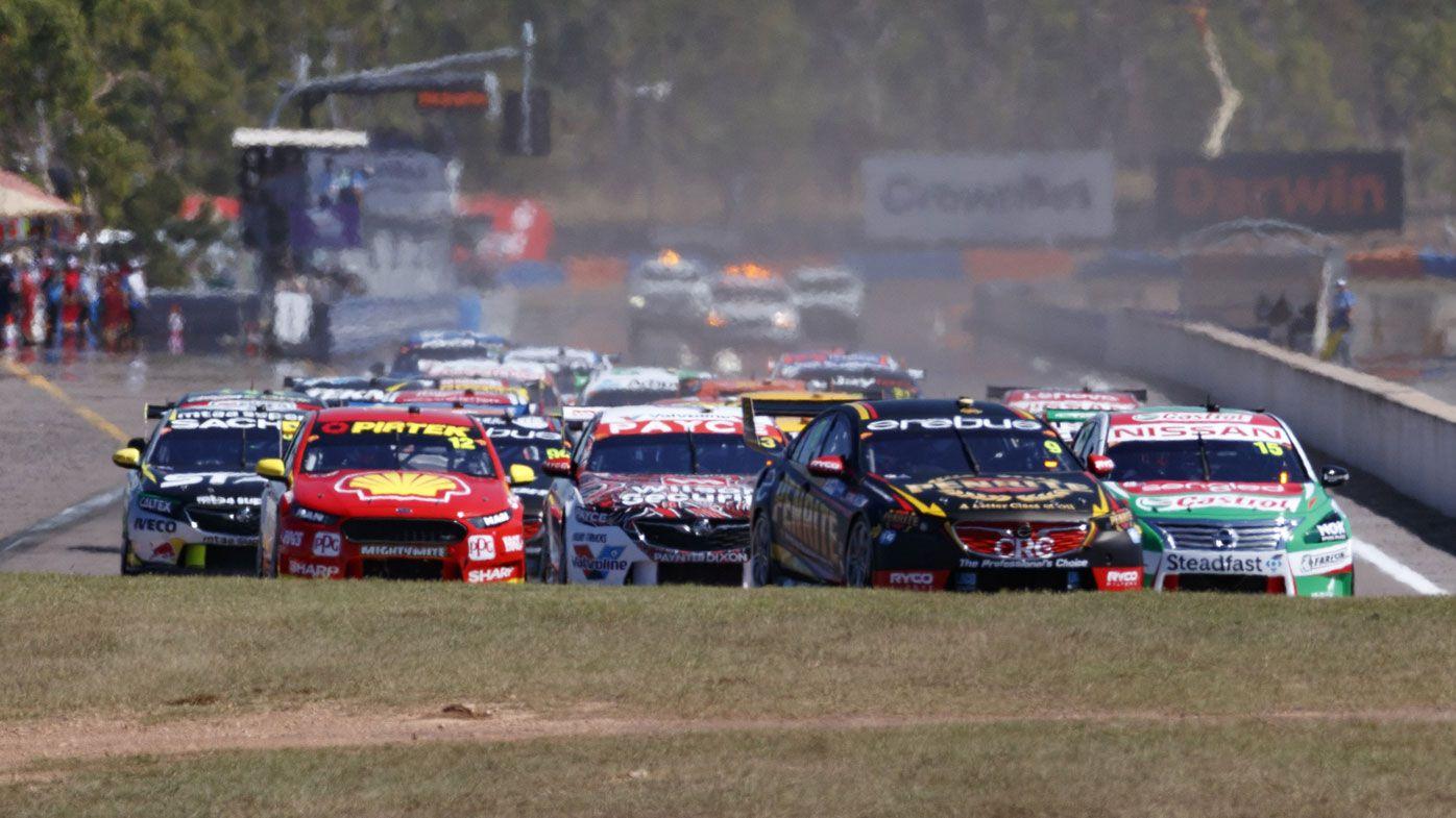 Holden's David Reynolds wins Supercars race in Darwin