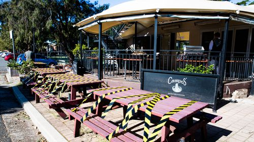 Some restrictions for cafes will be lifted in NSW from Friday.