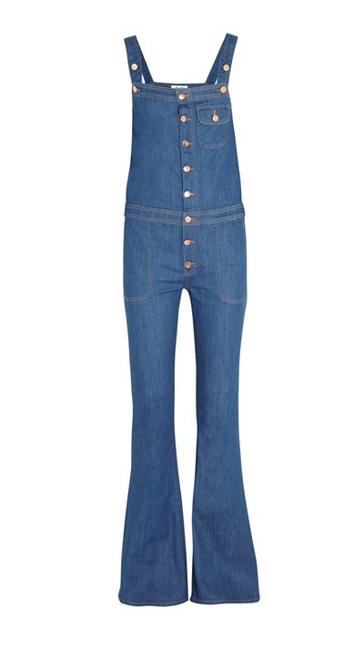 "<a href=""http://www.net-a-porter.com/product/493225/MiH_Jeans/the-dix-stretch-denim-flared-overalls"" target=""_blank"">Dix Stretch-Denim Flared Overalls, $399.44, MiH Jeans</a>"