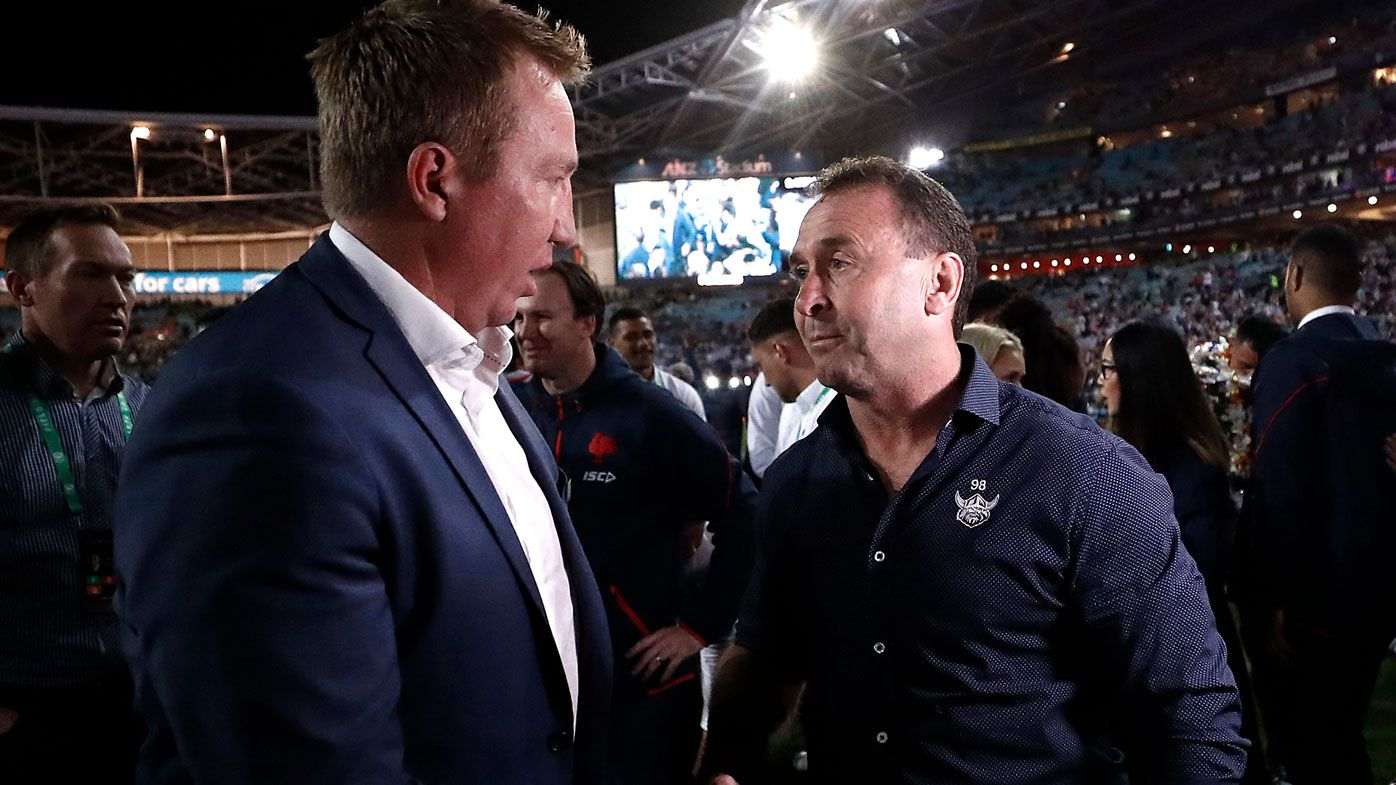 'Stick it up your a--': Ricky Stuart blows up over Raiders' brutal grand final rematch predicament