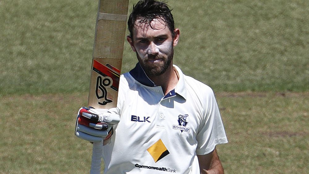 Glenn Maxwell makes Ashes case to Australian Test selectors with Sheffield Shield double century