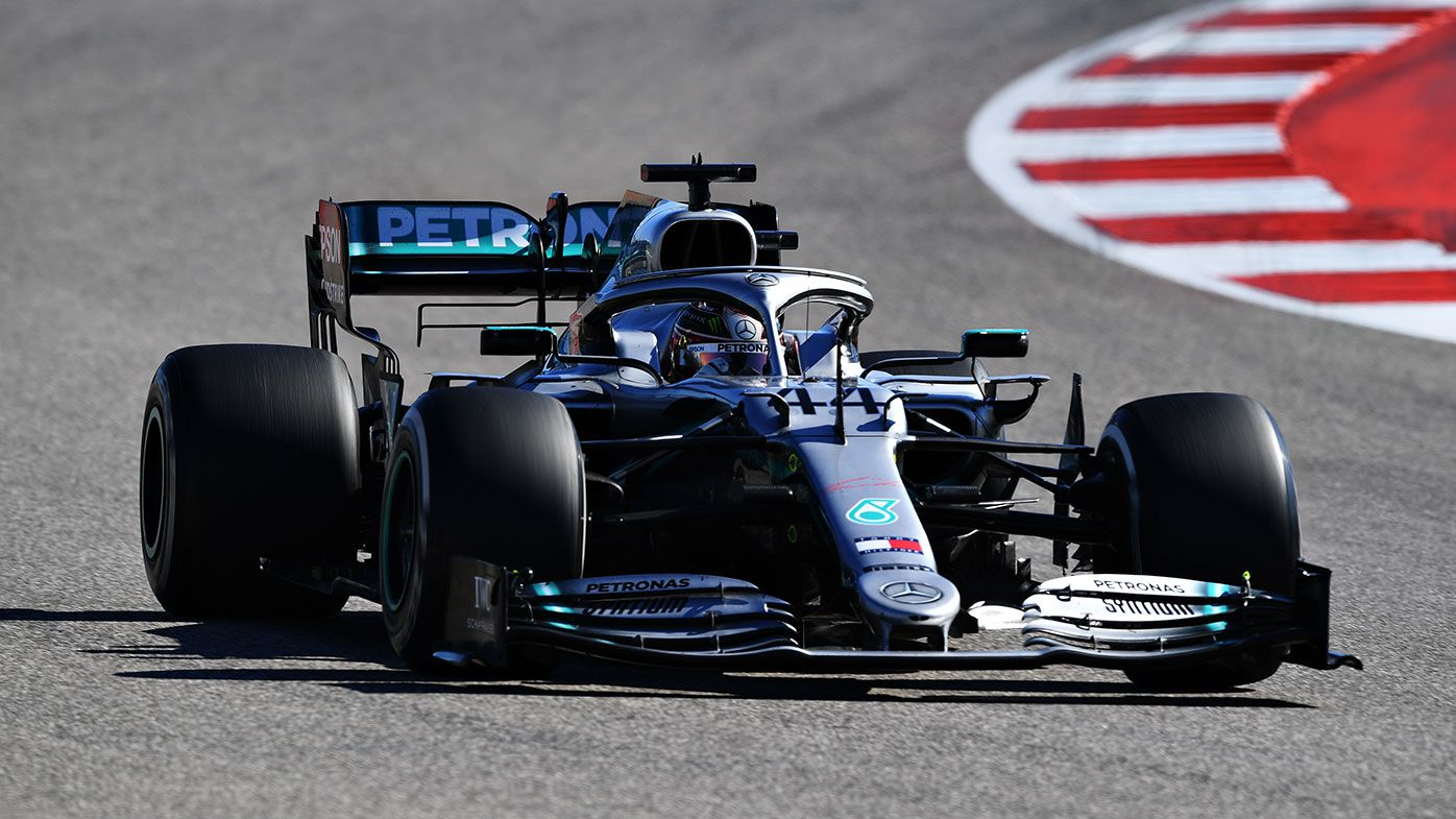 Lewis Hamilton won his sixth world title at the US Grand Prix.