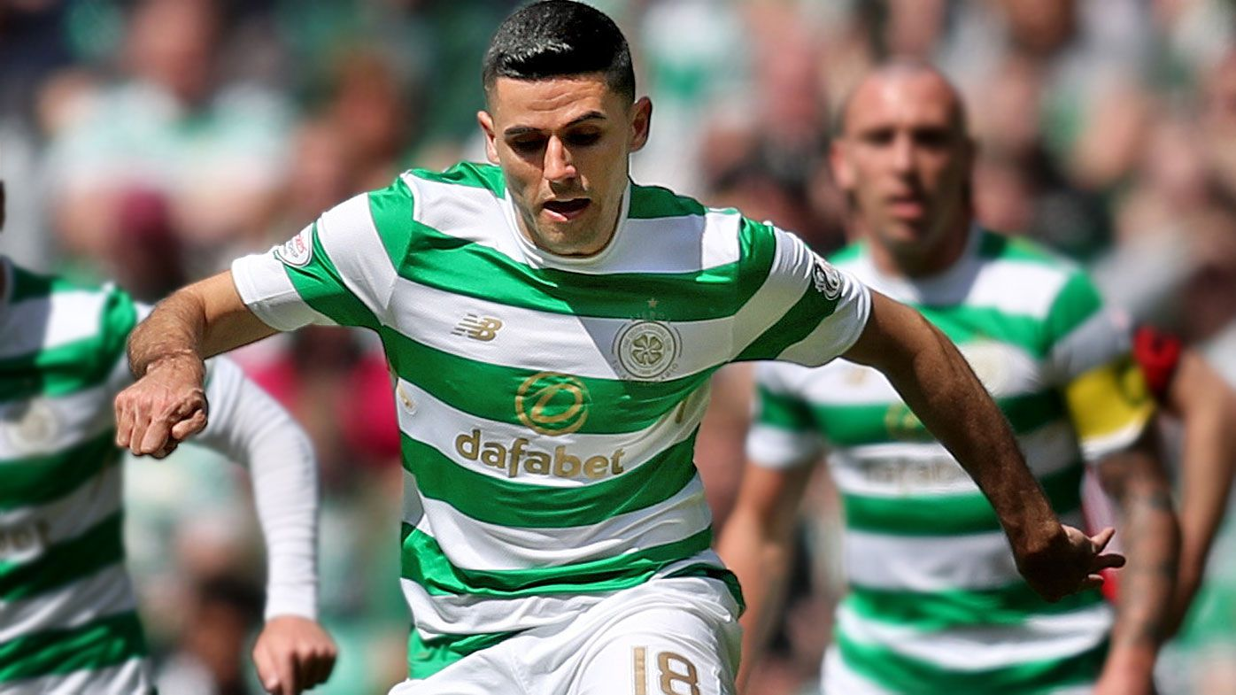 Socceroos striker Tom Rogic signs new five-year deal with Celtic FC in SPL