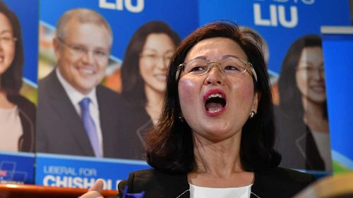 Liberal candidate for Chisholm Gladys Liu.