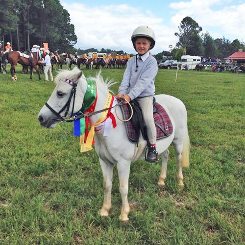 A keen and passionate horse lover, Lauren has been riding all her life, her mother Leanne Grocott says.