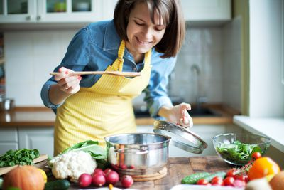 <strong>Cooking is a form of mindfulness</strong>
